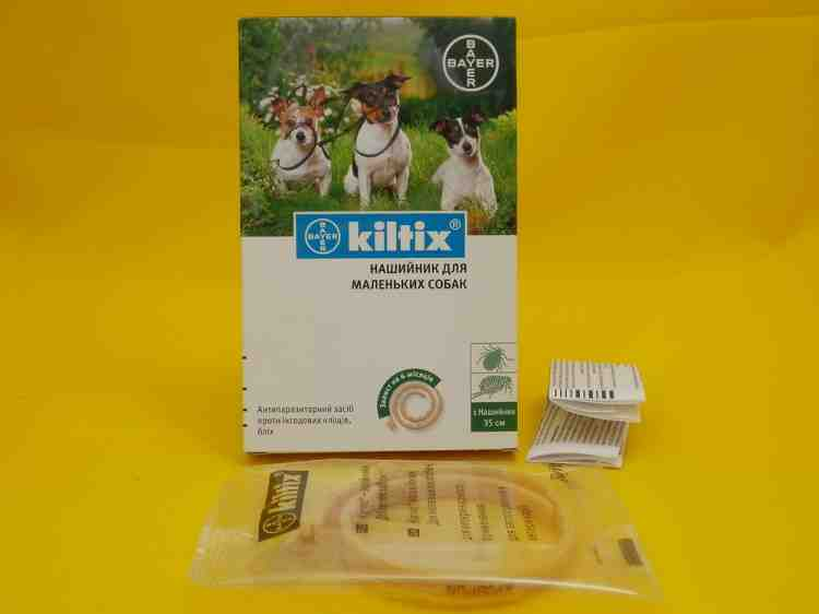 Килтикс  Kiltix антипаразитарный ошейник для собак