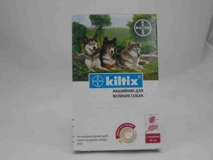 Kiltix антипаразитарный ошейник для собак