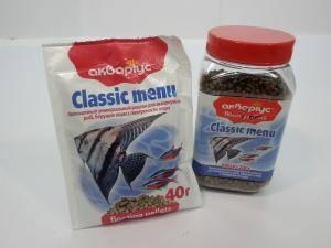 Аквариус - корм для аквариумных рыб, берущих корм с поверхности воды