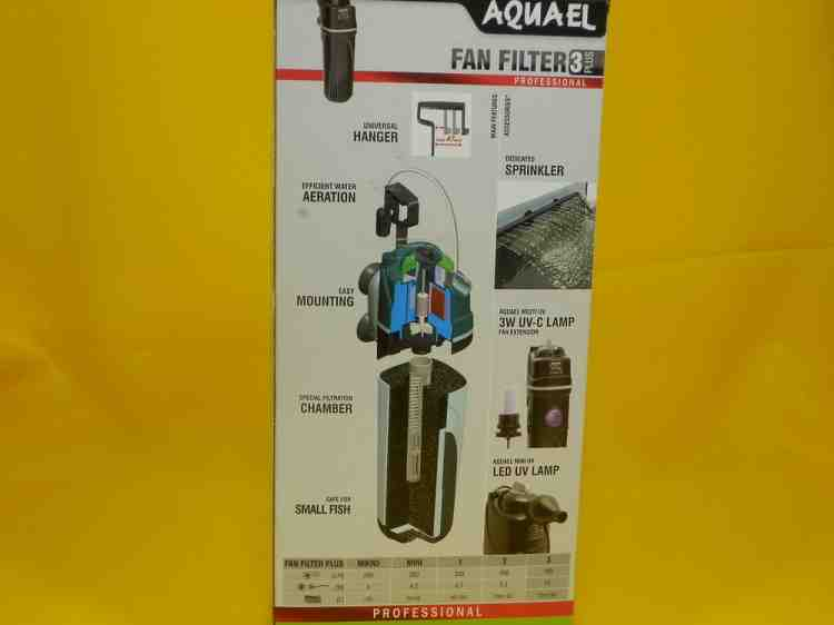 Фильтр для аквариума AquaEl FAN-3