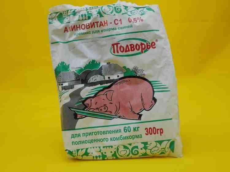 Аминовитан -- С1 премикс для свиней