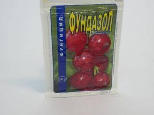 Фундазол - препарат для зашиты растений от грибковых заболеваний, 1 пакет - 15 г