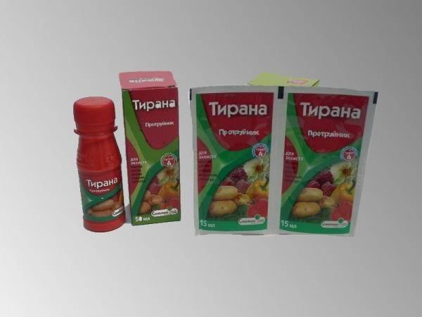 Тирана, протравитель