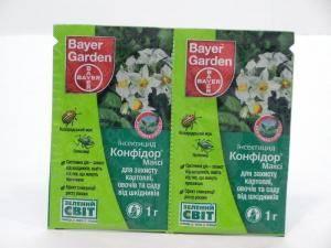 Конфидор Макси - средство для борьбы с вредителями растений