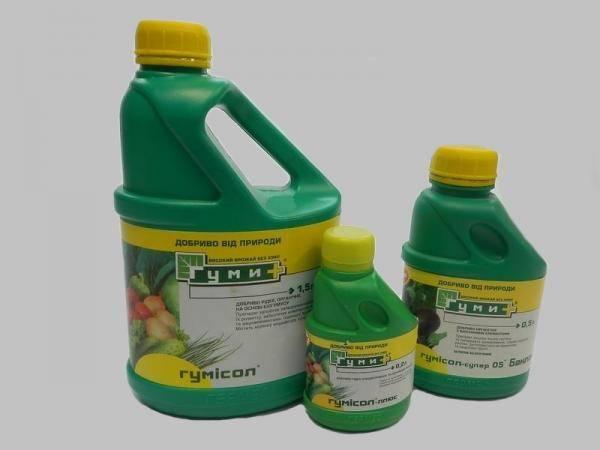 Гумисол, органическое удобрение
