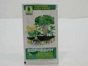 Корневин стимулятор роста корней, 1 пакетик - 4 г