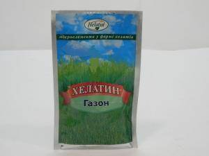 Хелатин Газон, удобрение для газонов