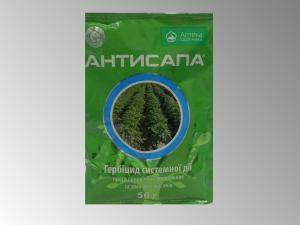 Антисапа, гербицид  системного действия