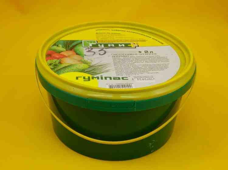 Гумипас органическое  пастообразное удобрение