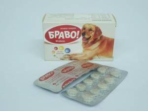 Витамины для собак крупных пород Браво
