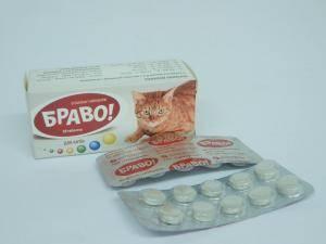Витамины для кошек Браво