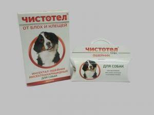 Чистотел Ошейник от блох и клещей для собак