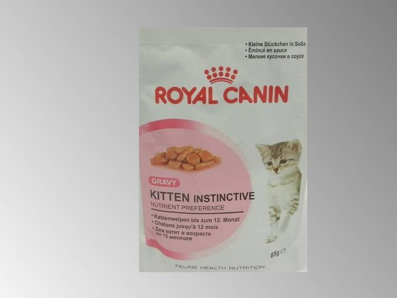 Корм royal canin kitten instinctive 85г