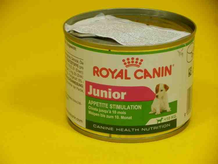 Консервы для щенков Роял канин (Royal Canin) 195 г Junior Appetite Stimulation (для стимуляции аппетита)