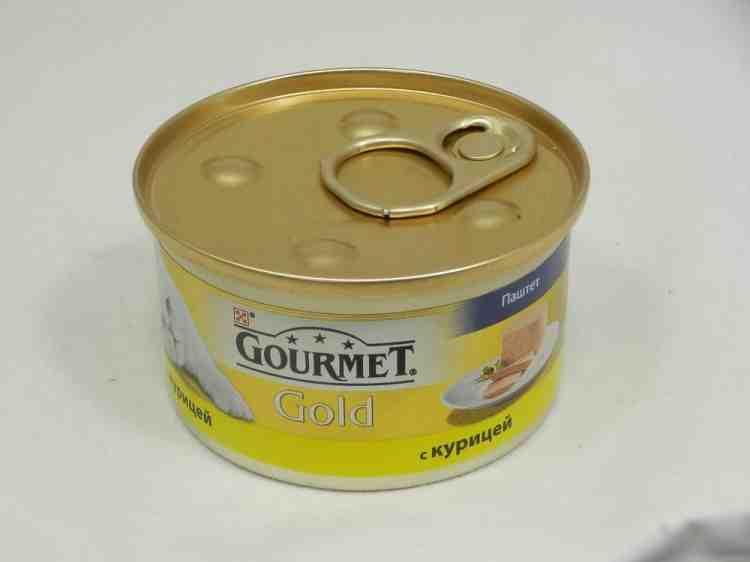 Gourmet Gold (Гурмет Голд) консервы для кошек паштет с курицей