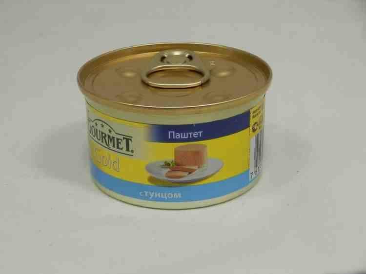 Gourmet Gold (Гурмет Голд) консервы для кошек Паштет с тунцом