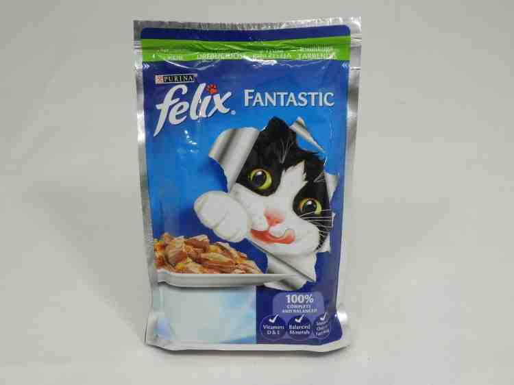 Консерва Felix (Феликс) Purina влажный корм для кошек,100 г
