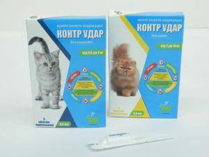 Контр Удар - капли на холку для котов